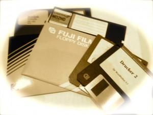 Disketten - die Dinosaurier der IT-Welt