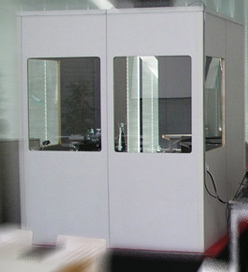 Typical Interpreting Booth